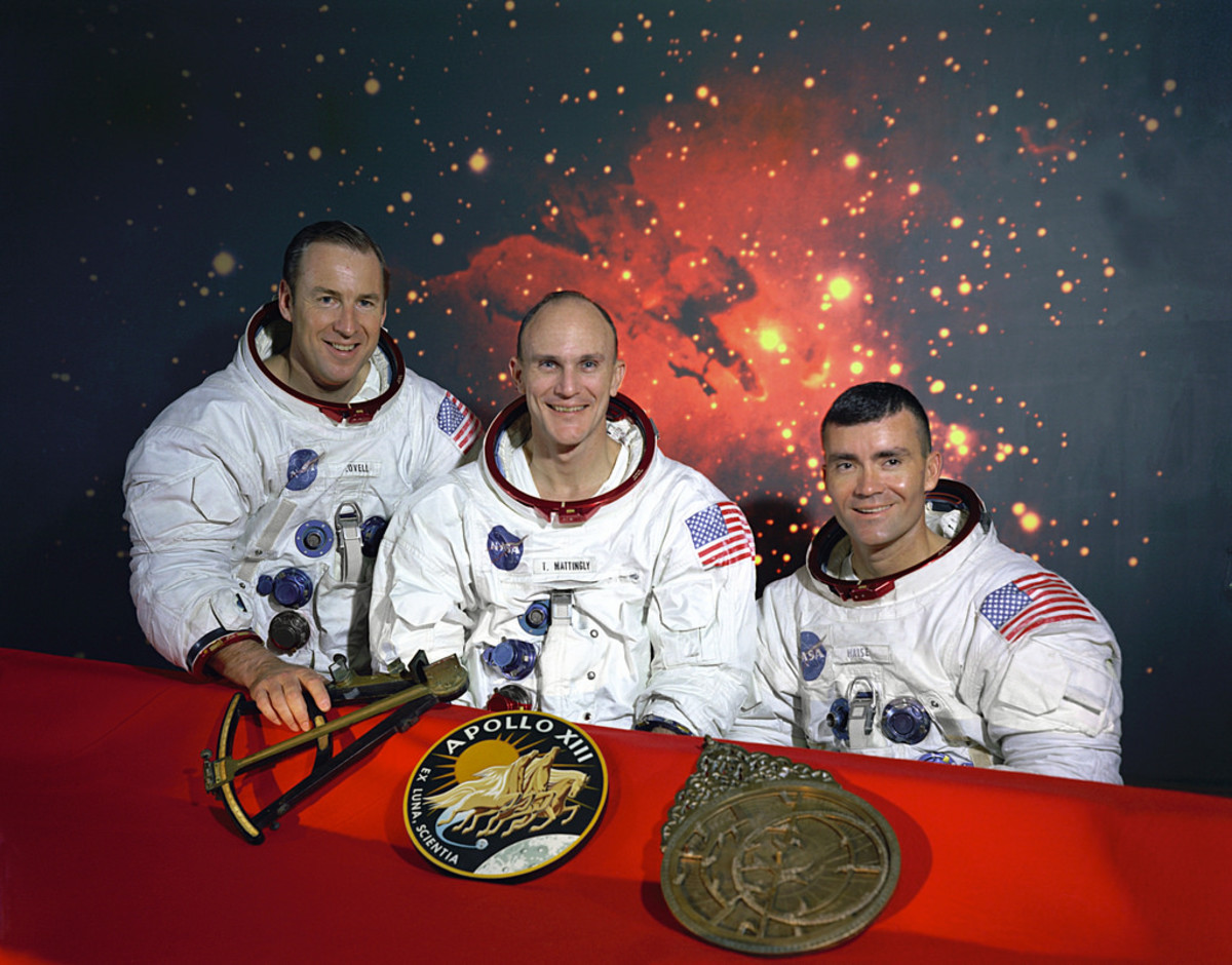 The original crew of the Apollo 13, named after the Greek sun god.