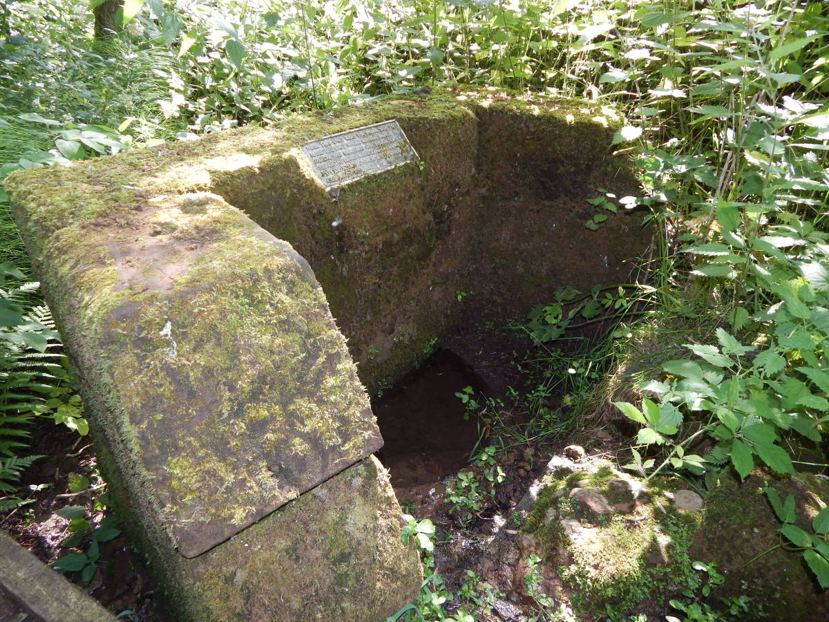 The Holy Well was believed to be a cure for sore eyes