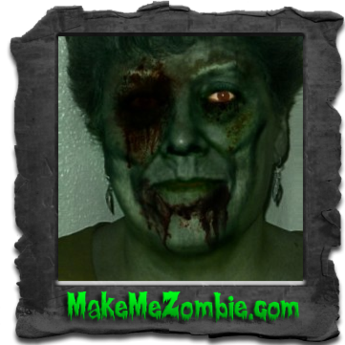 The author gets transformed into a zombie. Actually, this is just how I look when I haven't had my morning coffee yet.