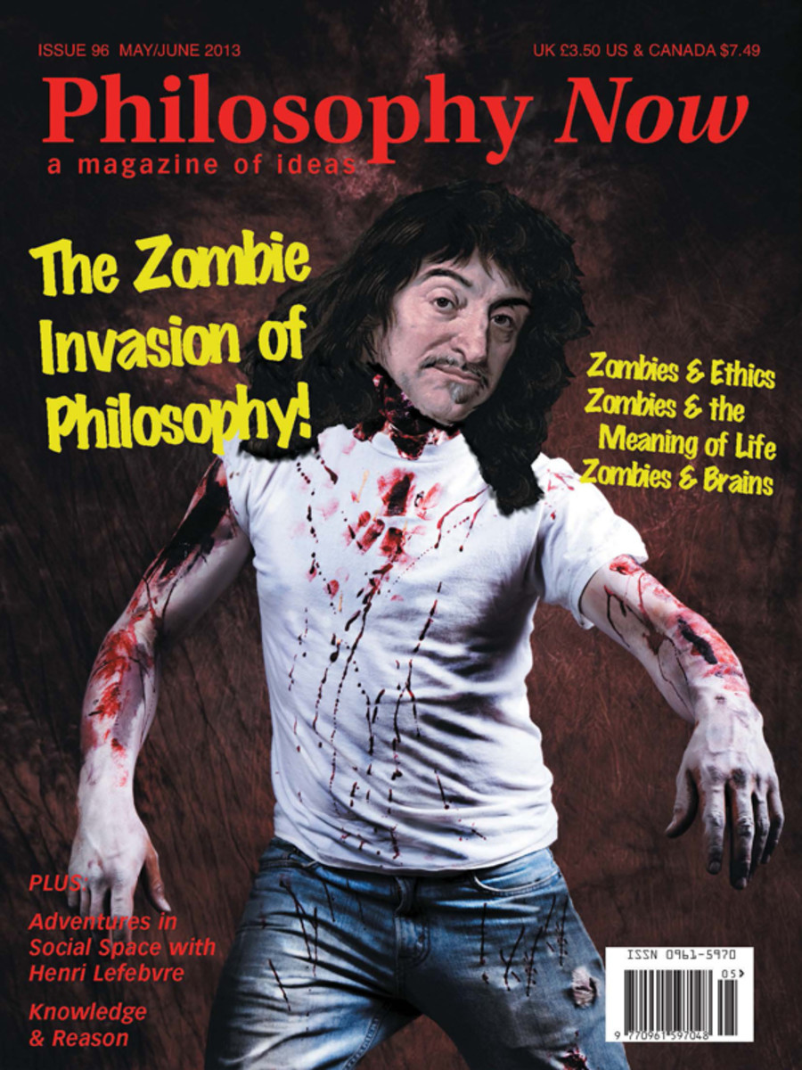 Philosophy is relevant to the understanding of the appeal of zombie stories.