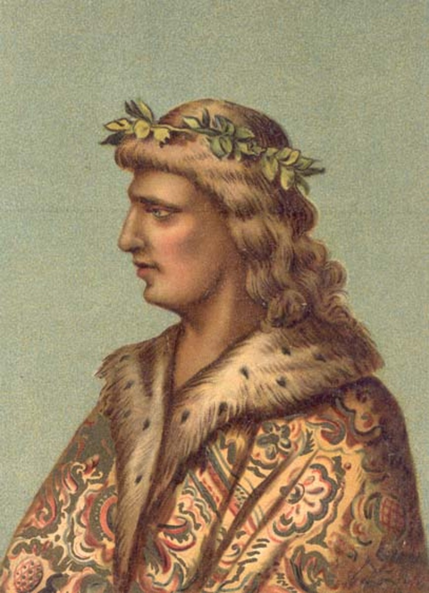 Matthias Corvinus, King of Hungary, 1458-1490.