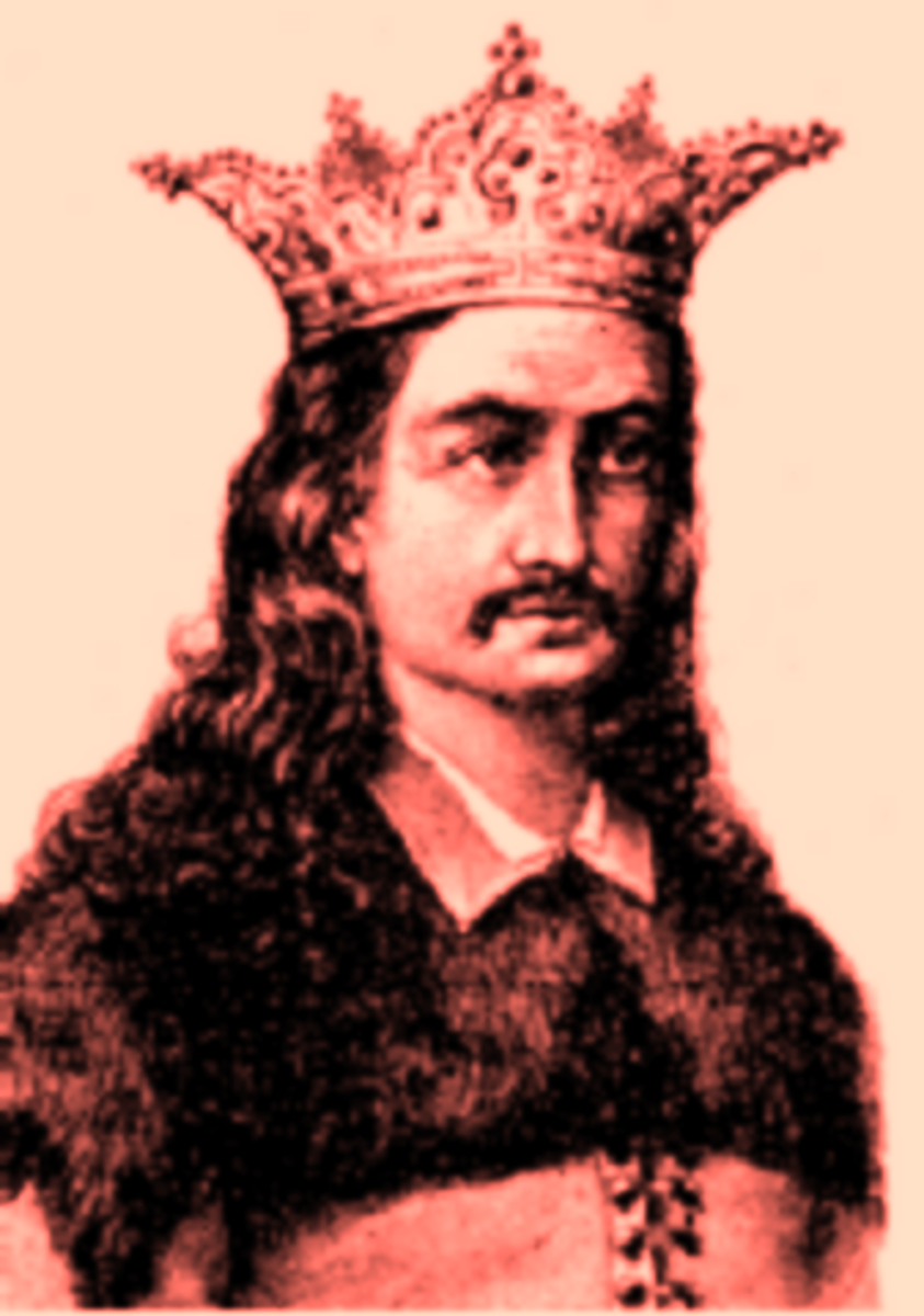 Radu cel Frumos, also known as Radu the Handsome,  brother of Vlad III.