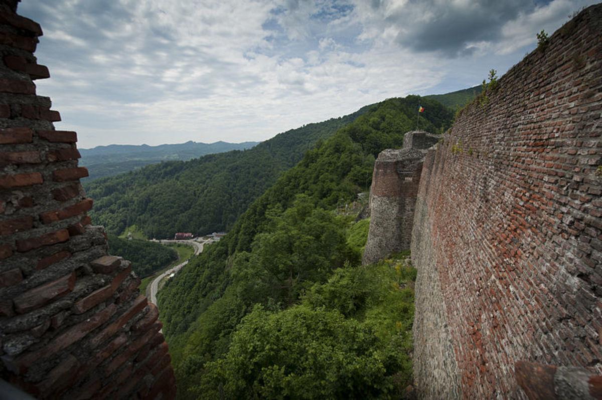 Poenari Castle, June 2014