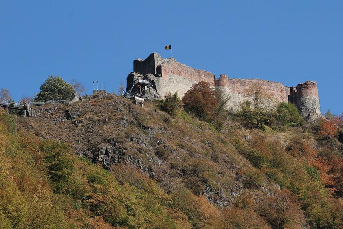 Poenari Castle, September 2012