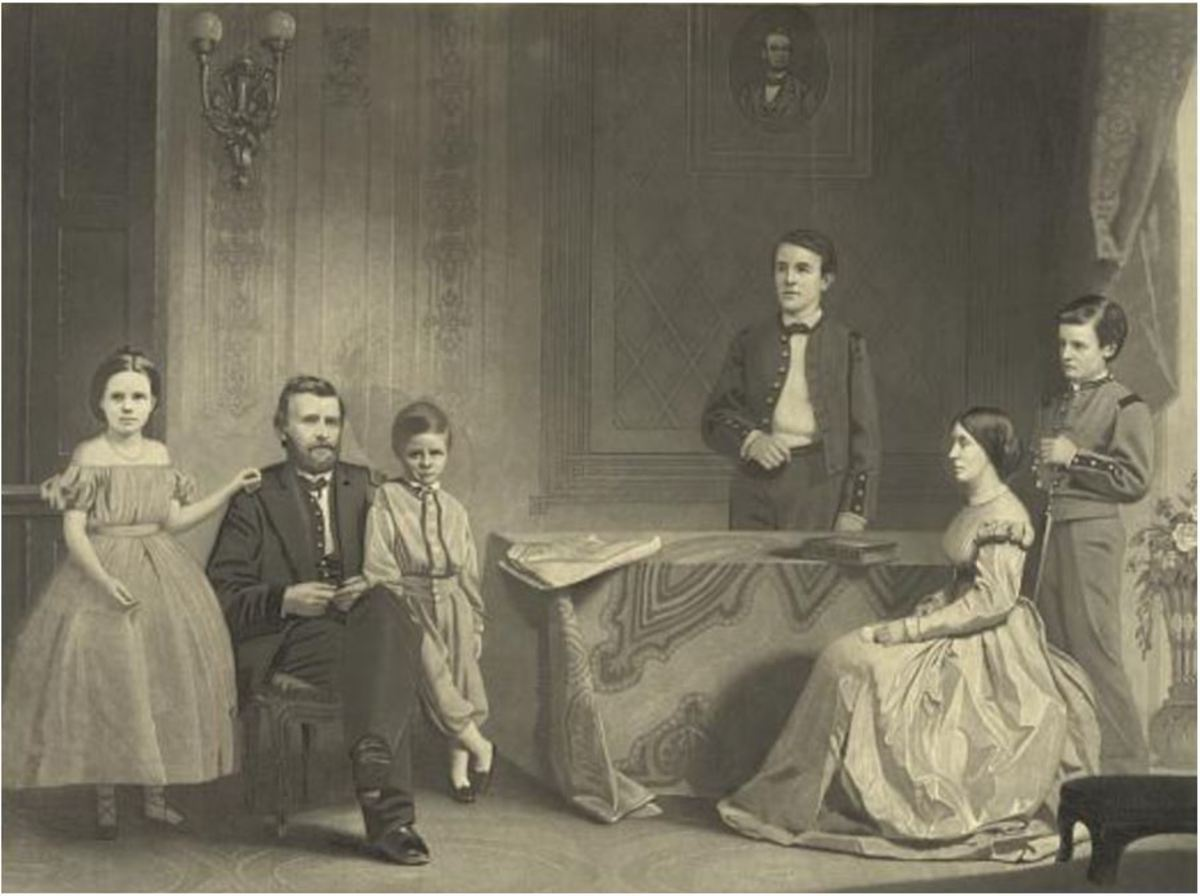 Grant and his Family, 1867