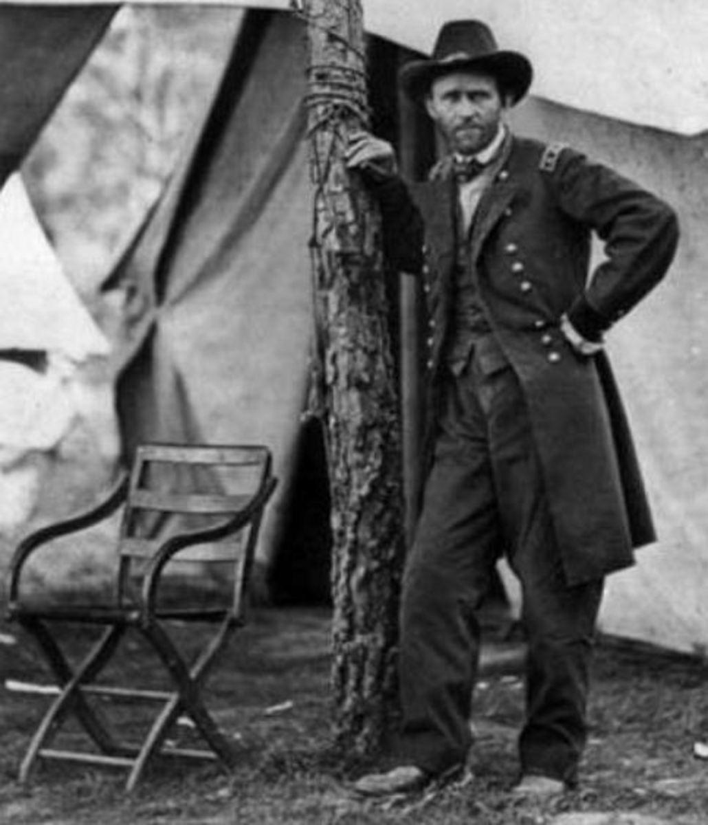 General U. S. Grant in 1864