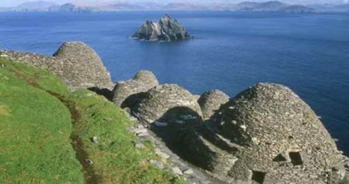 Monastic colony on Skellig Michael