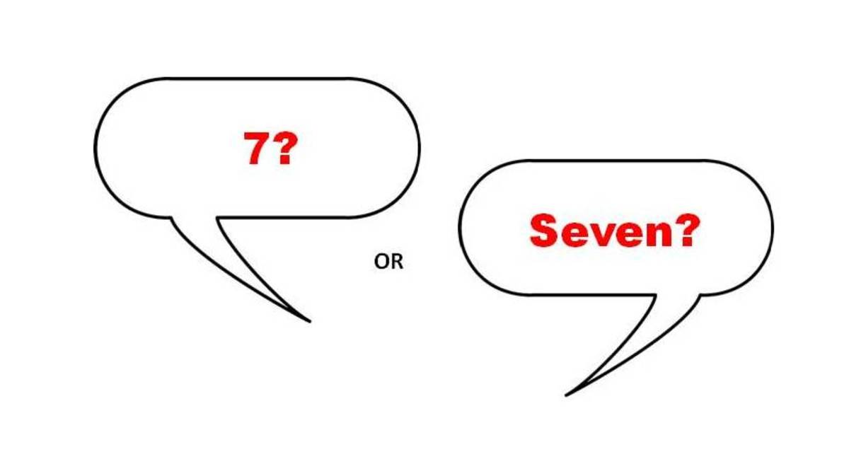 Seven is considered to be a lucky number in many cultures.