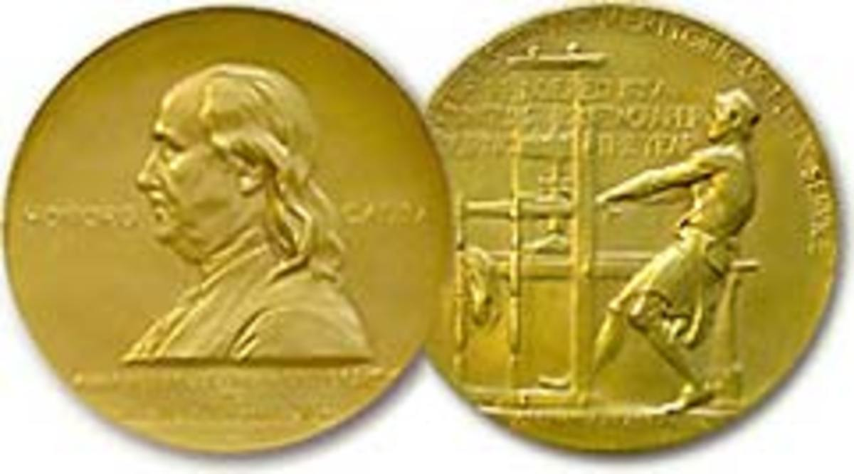 The Pulitzer Prize gold medal award, which Jerome Weidman won in 1960 for his dramatic writing.