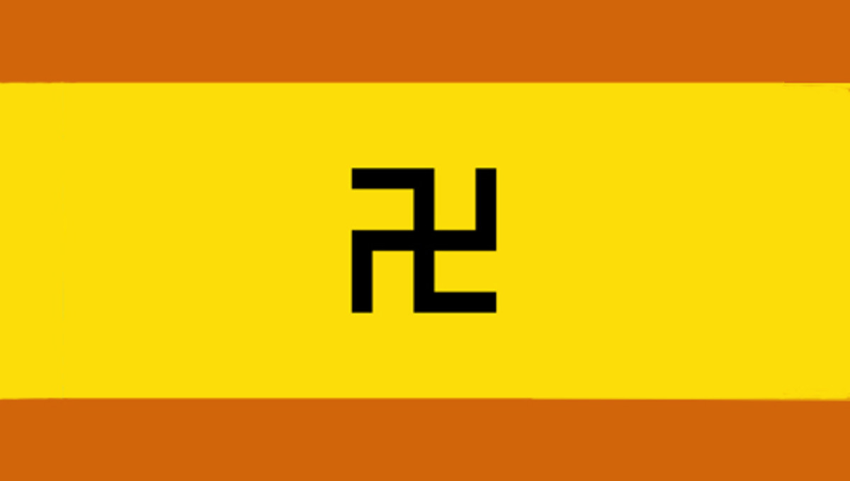 In February 1925 the Kuna tribe in Panama rebelled against an oppressive government to establish a degree of autonomy. They chose this flag for themselves in 1930