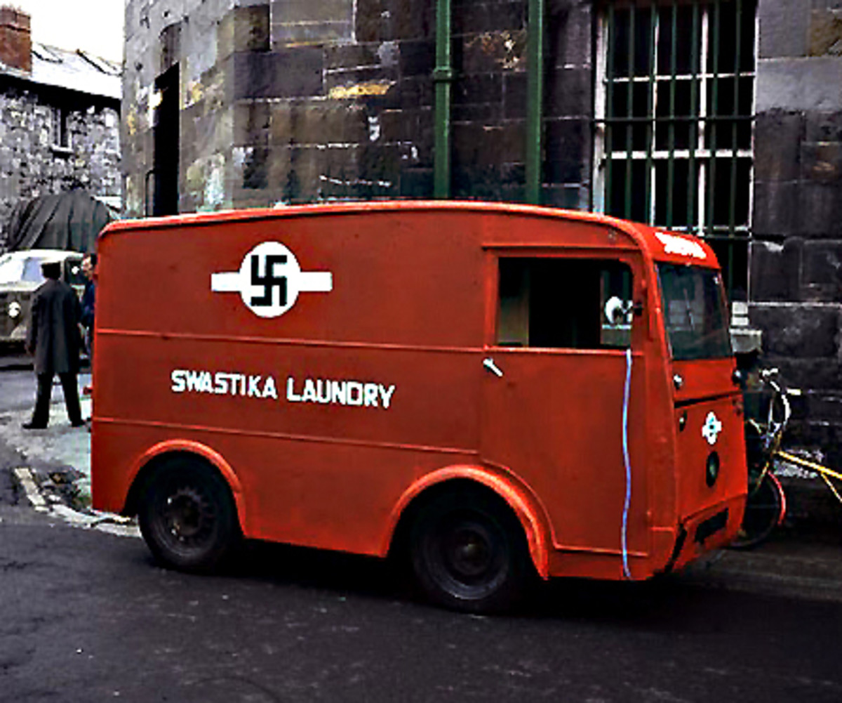 The Swastika Laundry Company set up in business in Dublin, Ireland in 1912, and it continued in operation through the war years before finally closing down in 1987