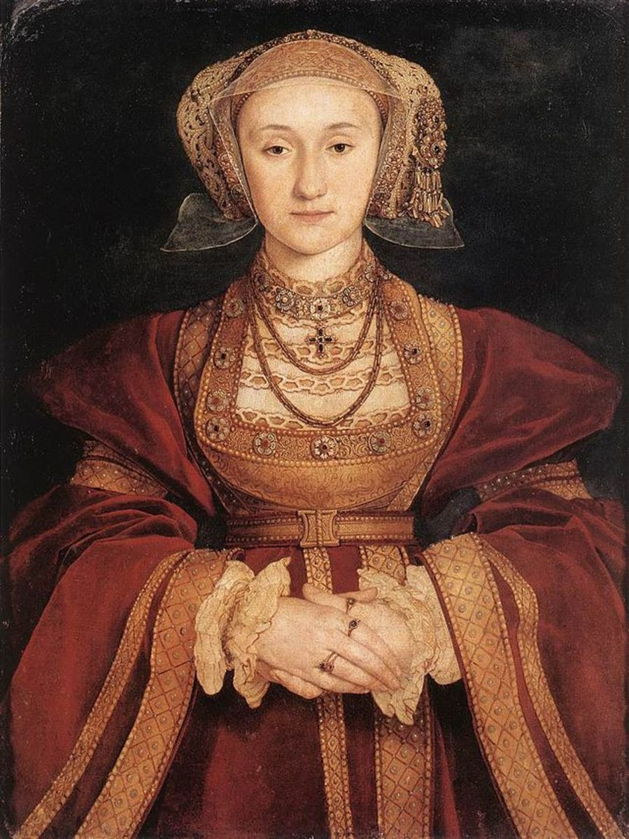 Anne of Cleves before her marriage to the King