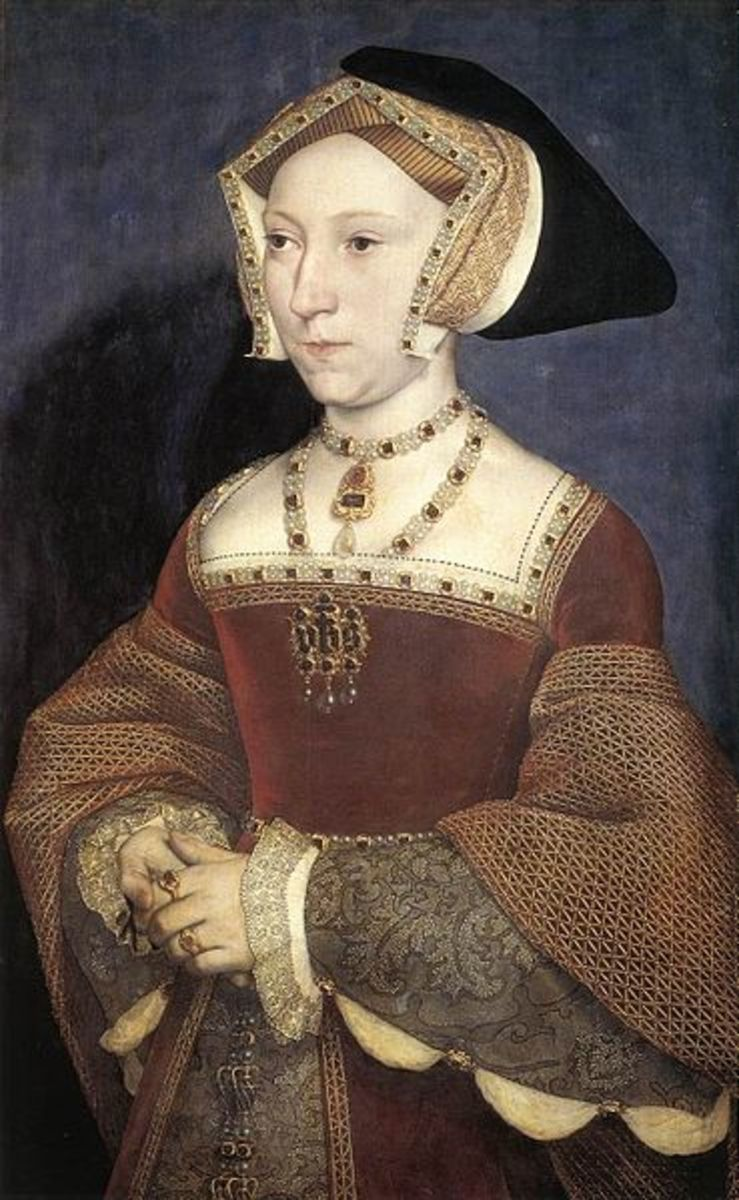 Jane Seymour in 1536 by Hans Holbein