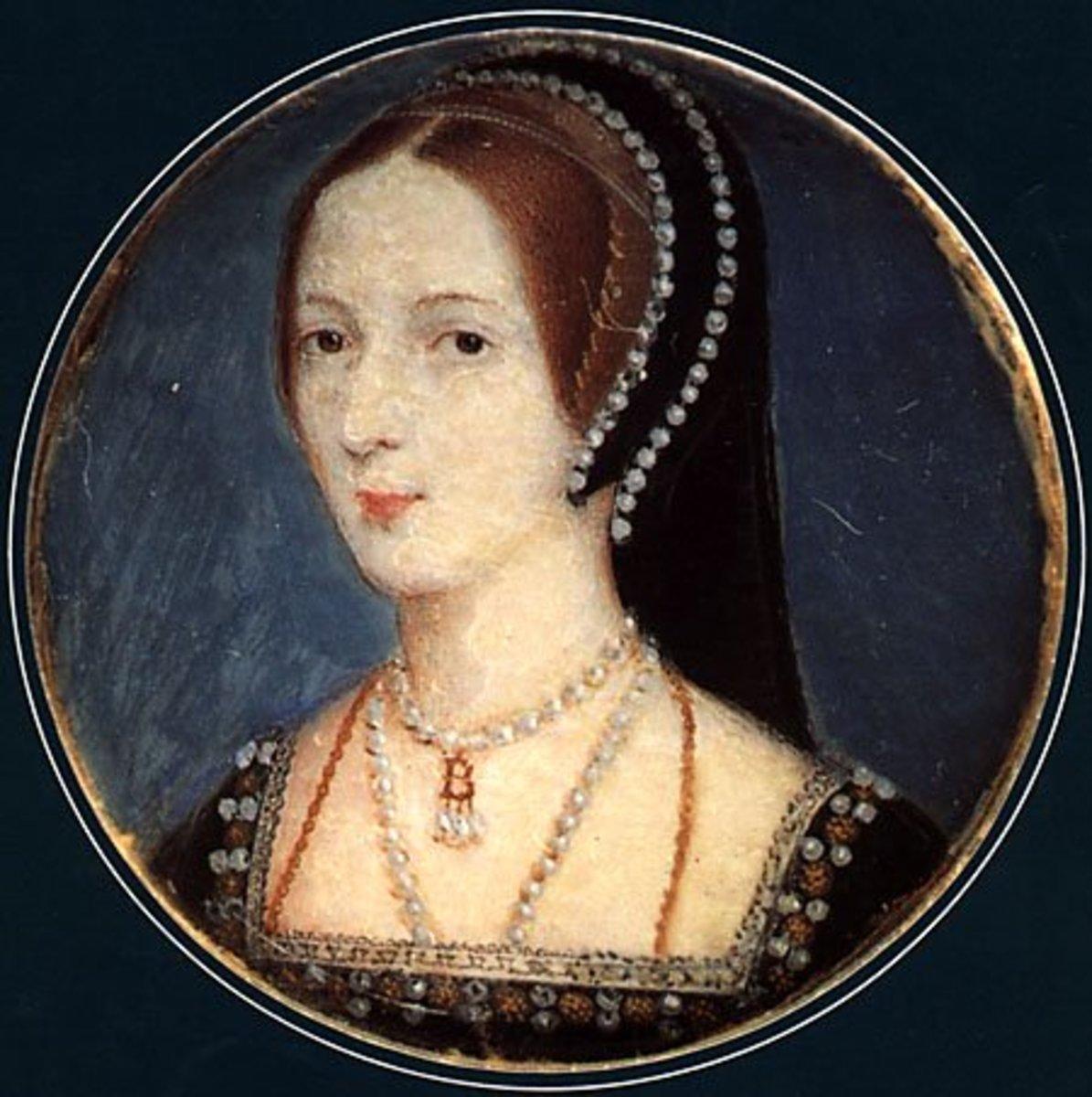 Anne Boleyn in her youth