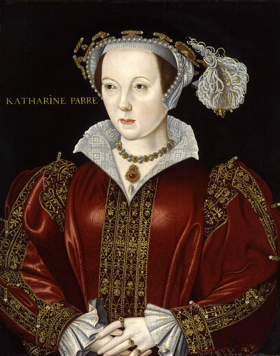 Katherine Parr after her marriage to the King