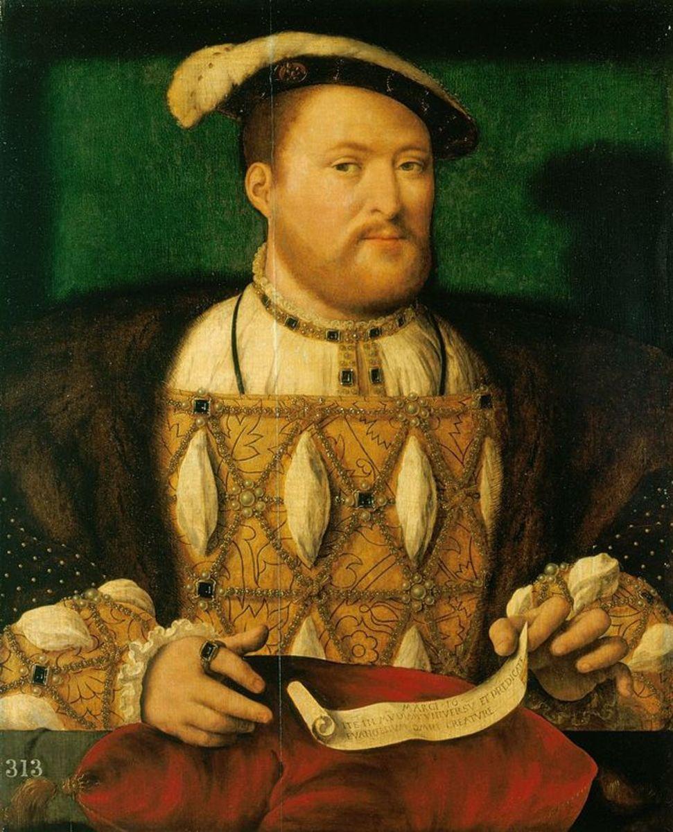 King Henry VIII circa 1531