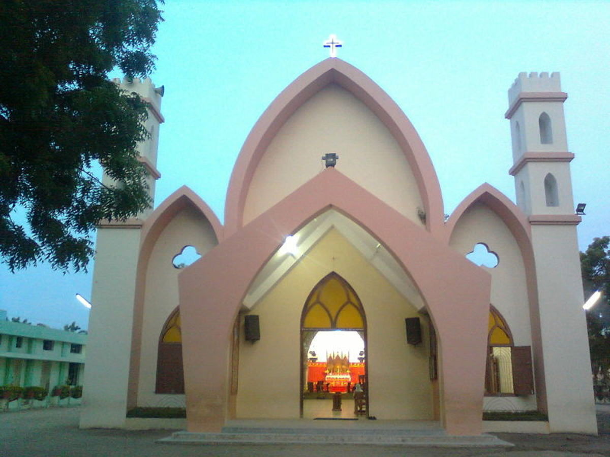 St. Patrick's Church, Tuticorin, Tamilnadu, S. India
