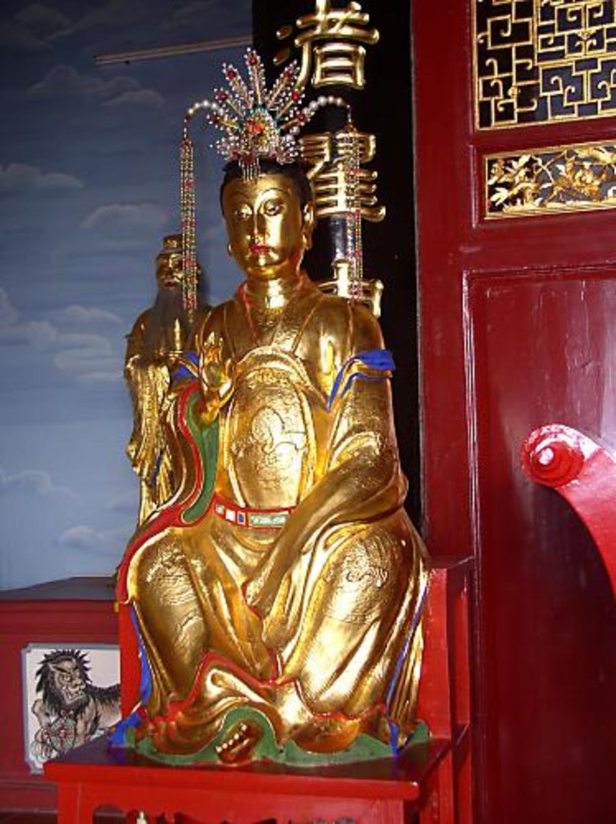 A Chinese Moon Goddess