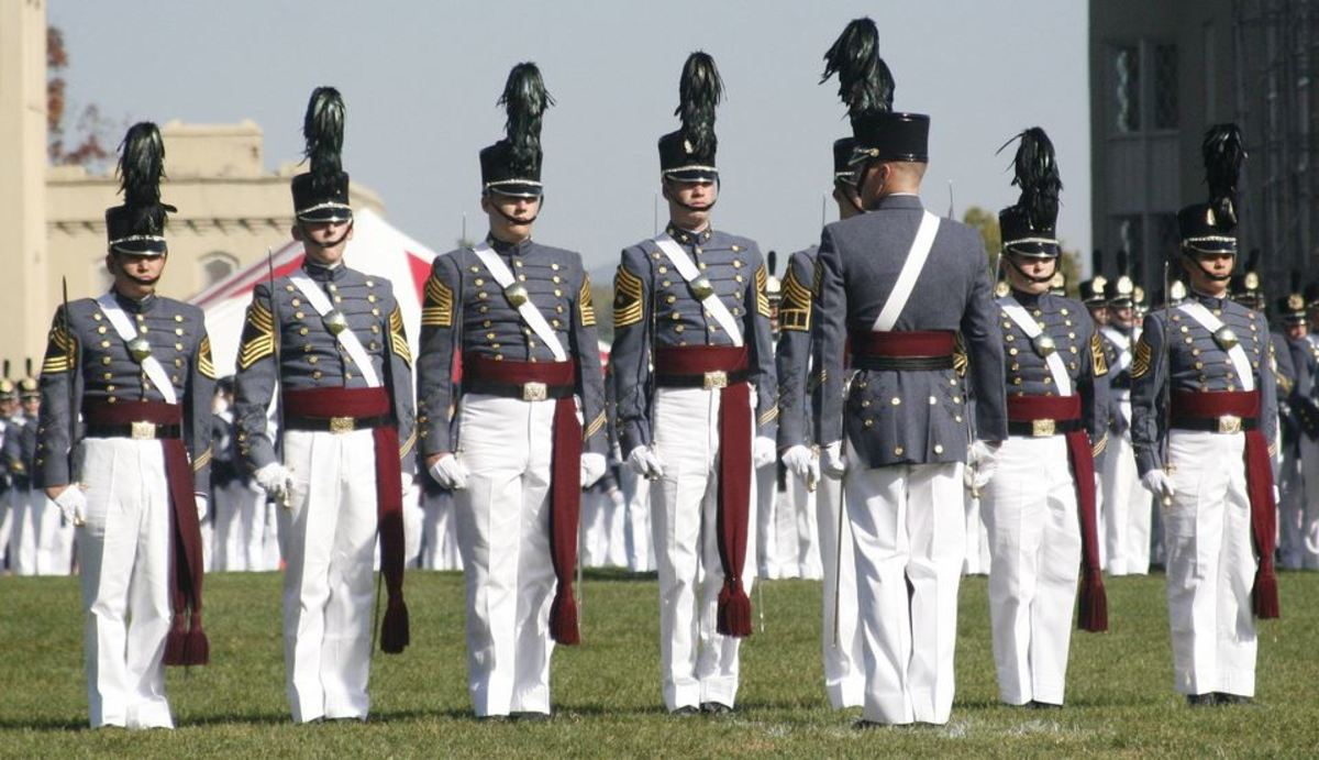 Cadets at the Virginia Military Institute