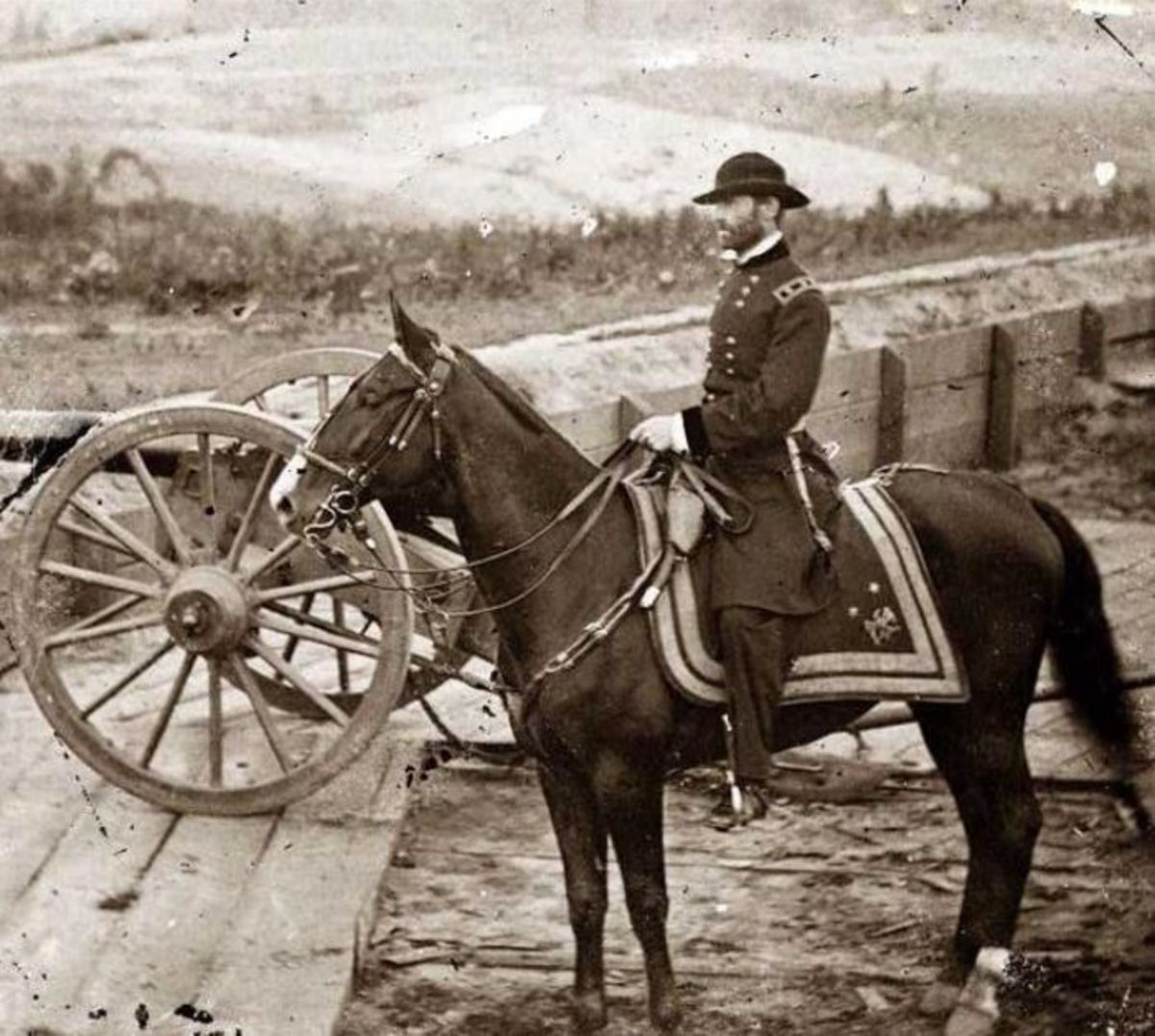 General Sherman during his Atlanta campaign