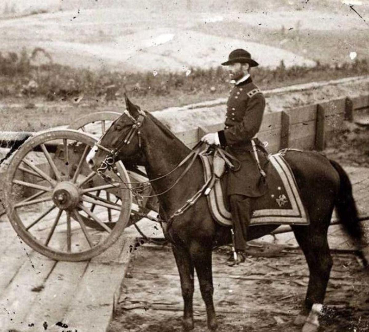 General Sherman during his Atlanta campaign