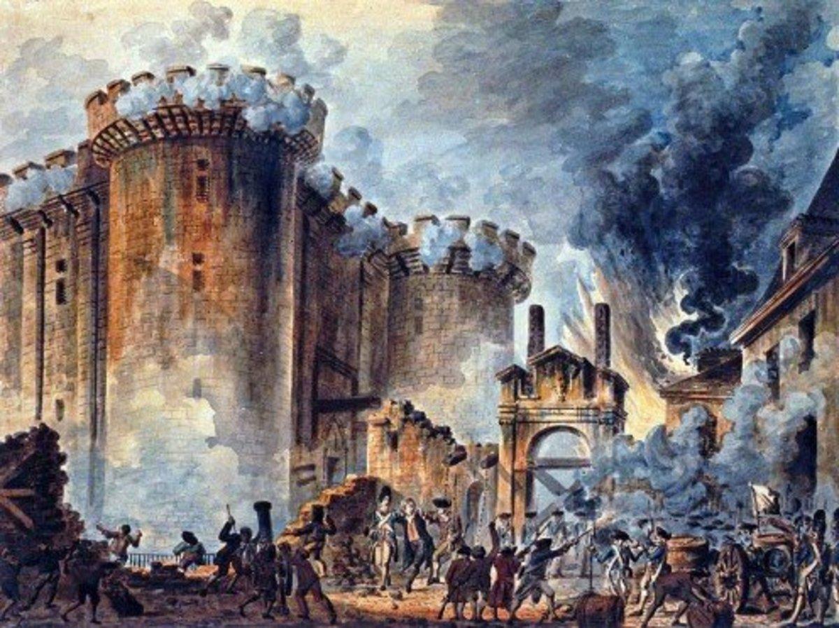 Storming the oppressors a la Bastille. Vive la révolution! Release the Kraken!