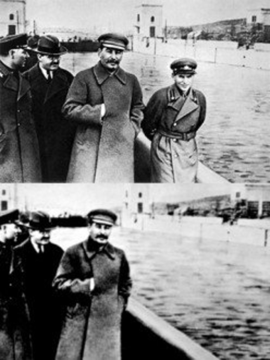 Photoshopping history at its best.