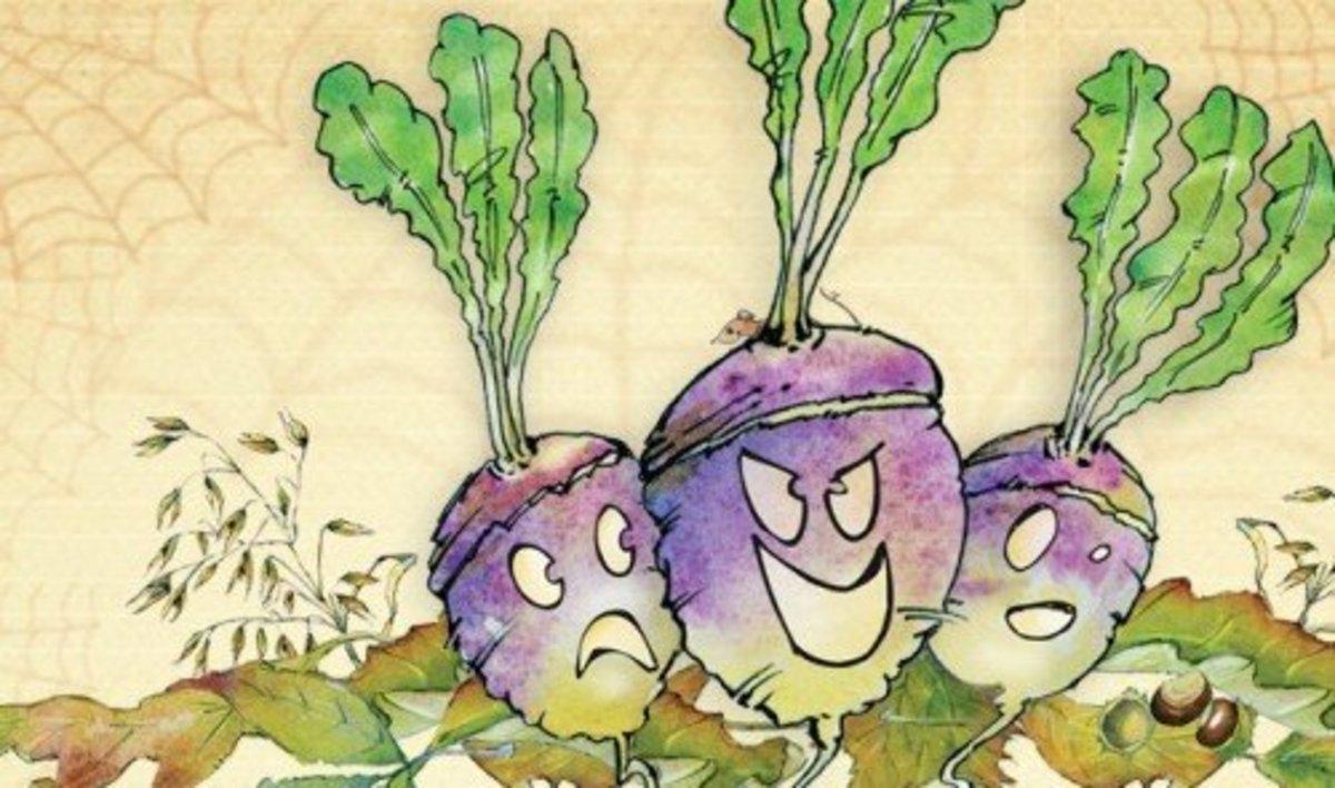 Turnip Jack O'Lanterns