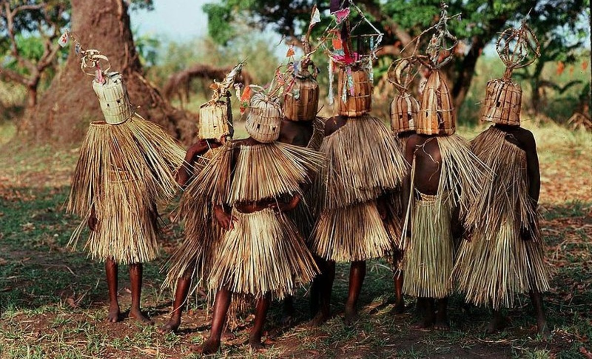 A Malawi initiation ritual. Elaborate and bizarre rituals can be comforting.