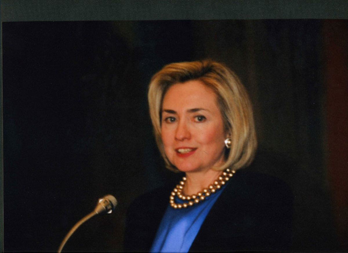 Hillary Clinton was the 42nd First Lady of the United States.
