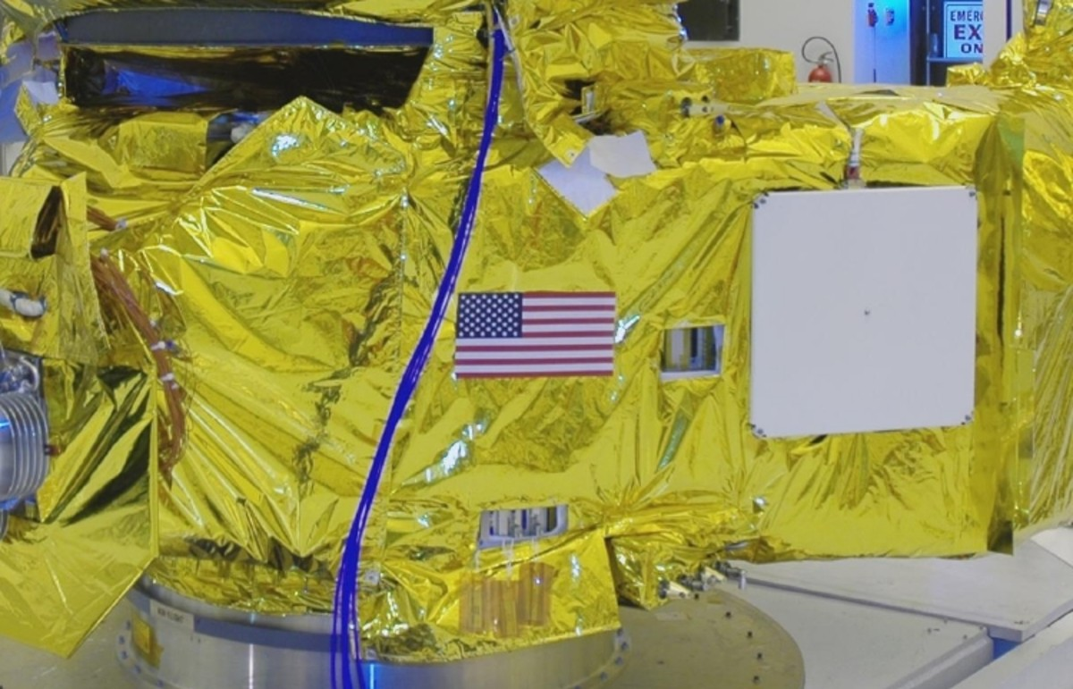 New Horizons in November 2005 as it prepares for the big launch.