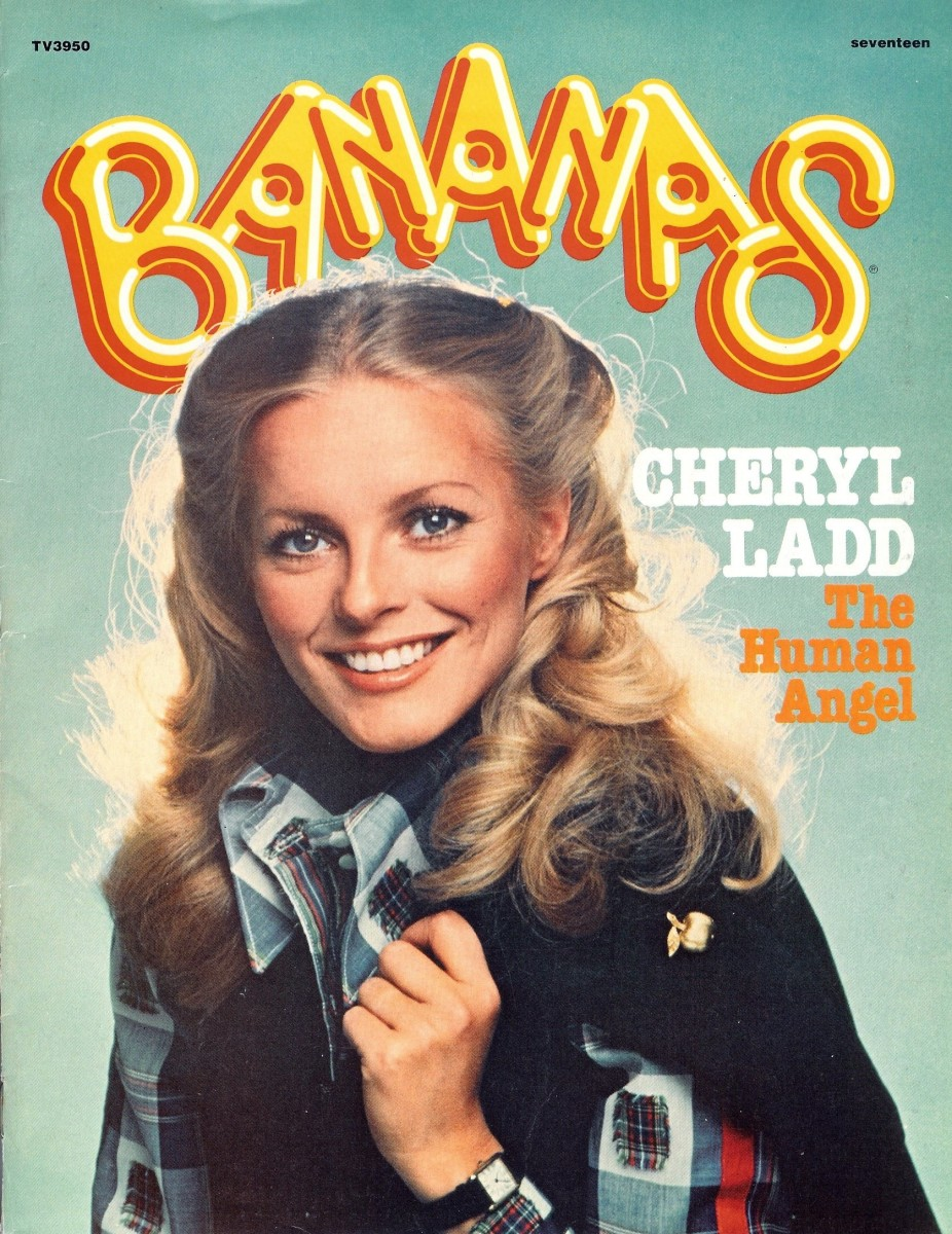 Bananas Magazine Issue 17 has lovely Cheryl Ladd on the front cover.