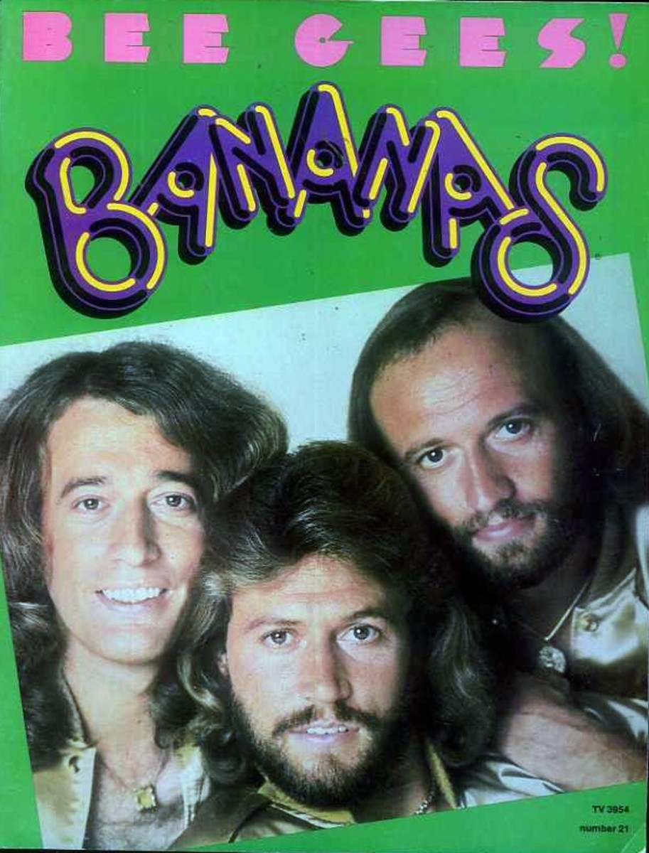 Issue 21, 1978 Bee Gees front cover
