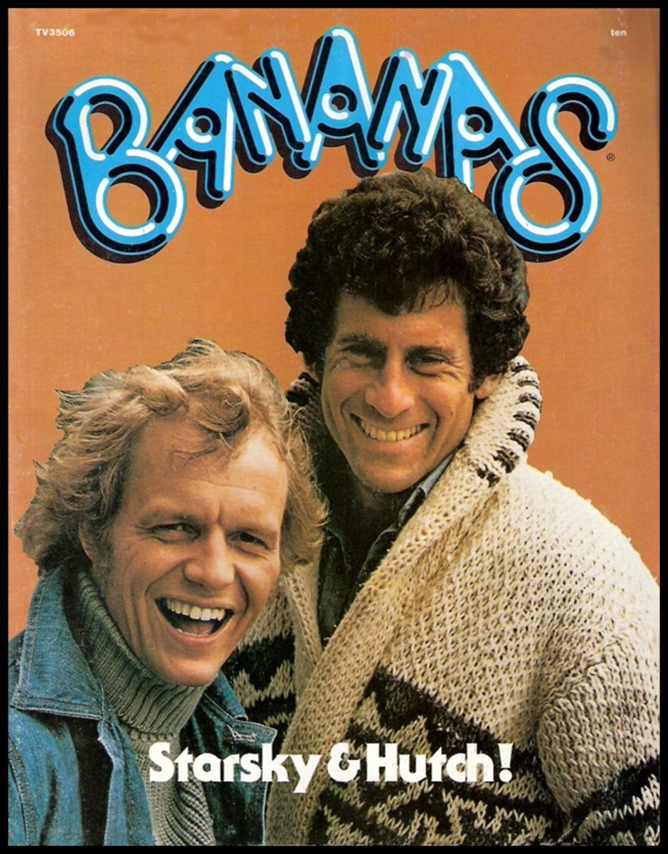 Bananas Magazine: Issue #10 David Soul and Paul Michael Glaser Cover