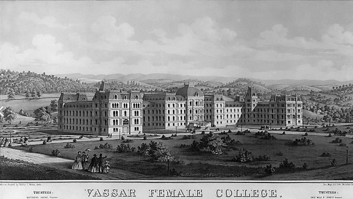 Vassar in 1864