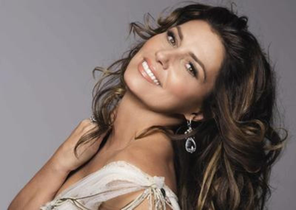 Country Music Star Shania Twain was born in 1965. She turns 50 years old in 2015