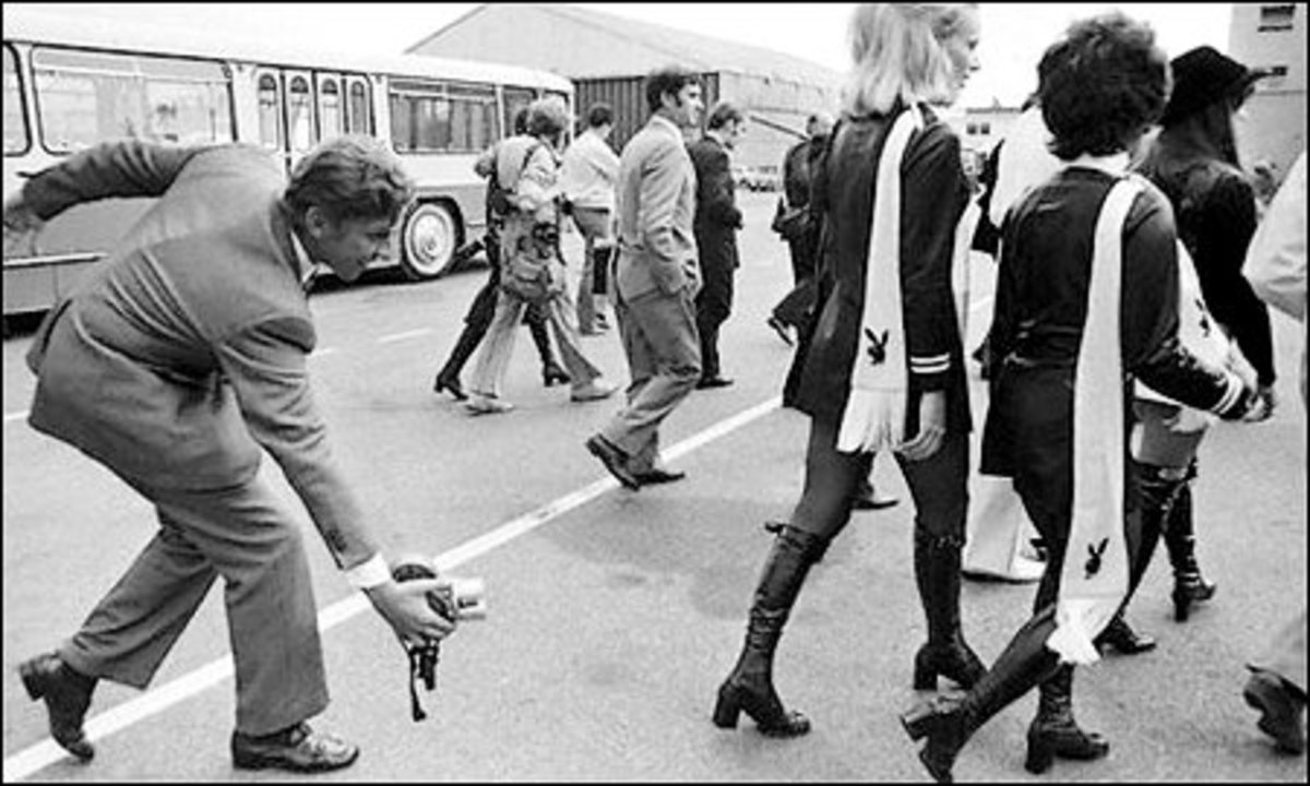 Mini skirts were introduced . . . so was up-skirting, possibly?