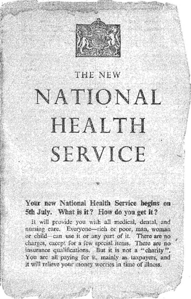 The New National Health Service Leaflet