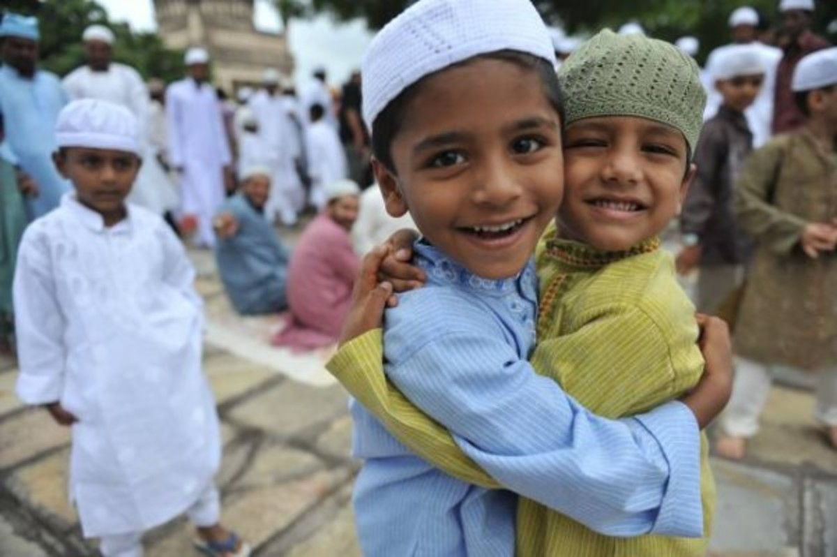 Kids on Eid - An Official Muslim Festival