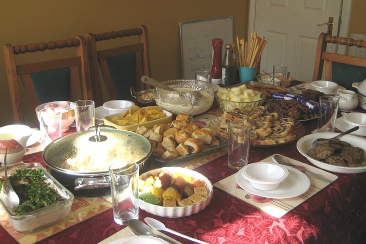 Eid feast after fasting