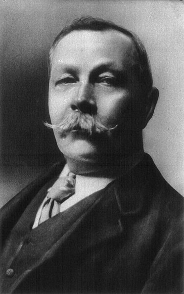 Arthur Conan Doyle, 1859 - 1930 Yes, he is a distant cousin on my Father's side of our family.