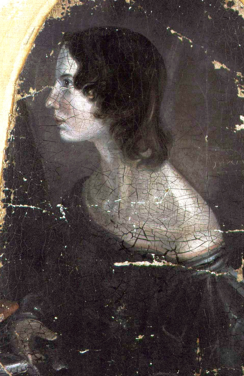 Portrait of Emily by her brother Patrick Branwell Brontë.