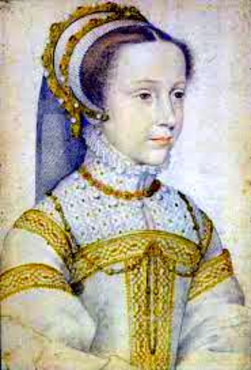 A portrait of the young Mary Queen of Scots