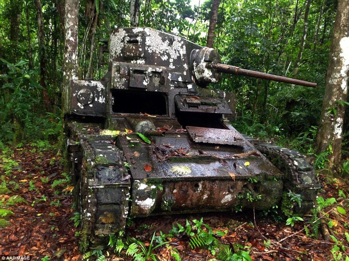 Japanese tank