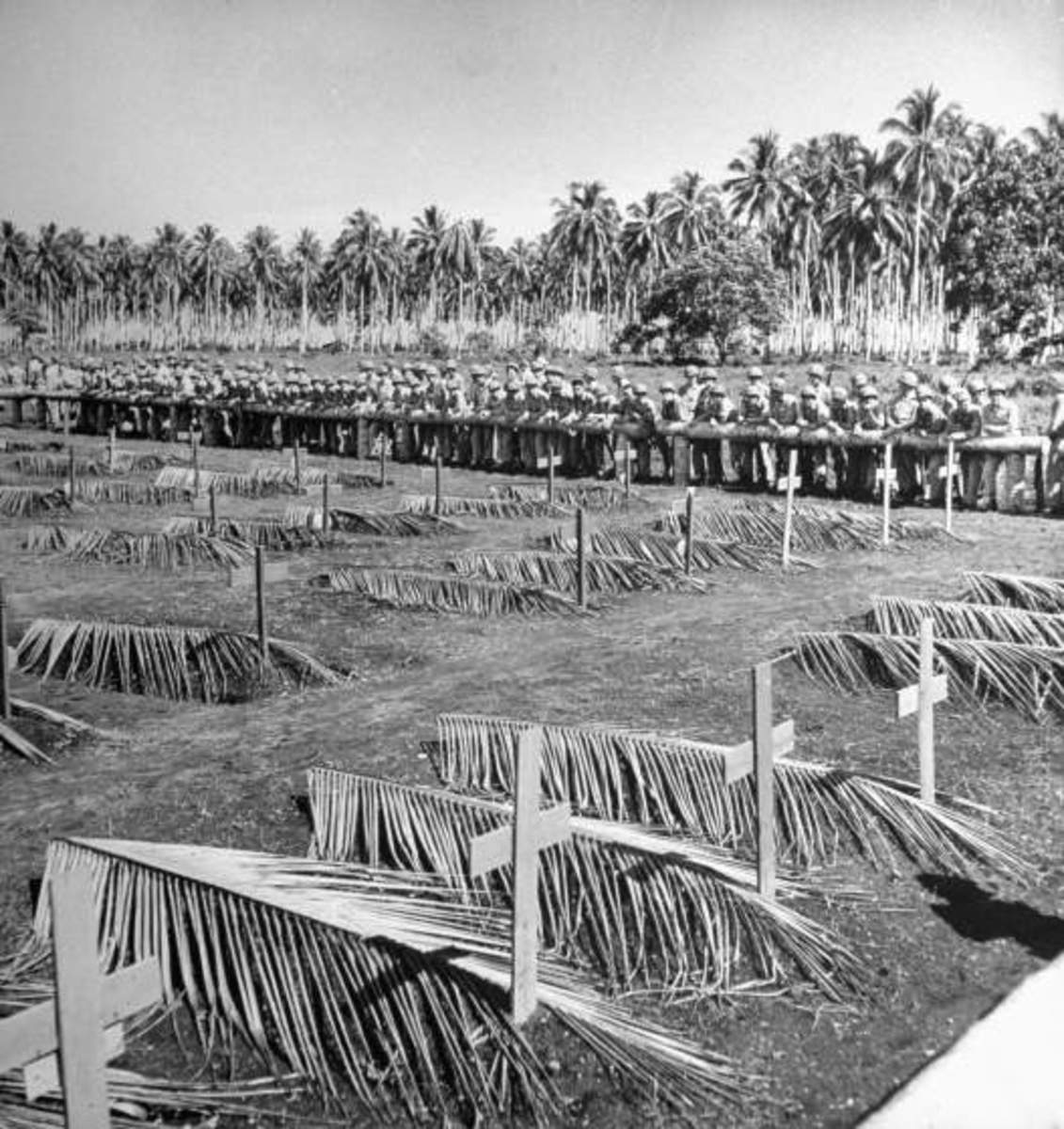 The final resting place for some of the Americans who paid the ultimate price for the capture of Guadalcanal.
