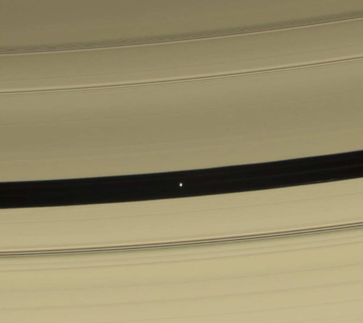 Pan in the Encke Gap.