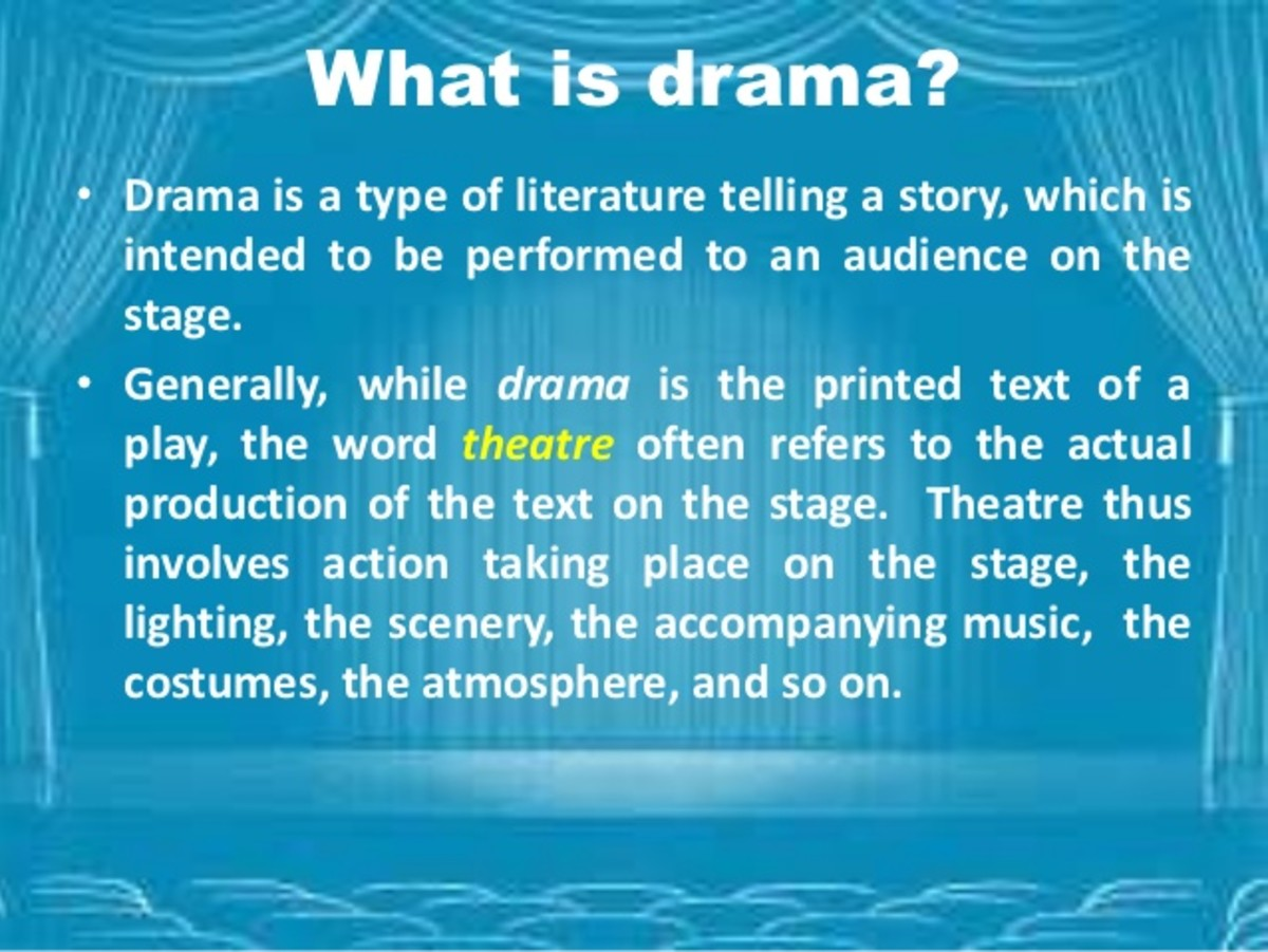 literature in no drama essay