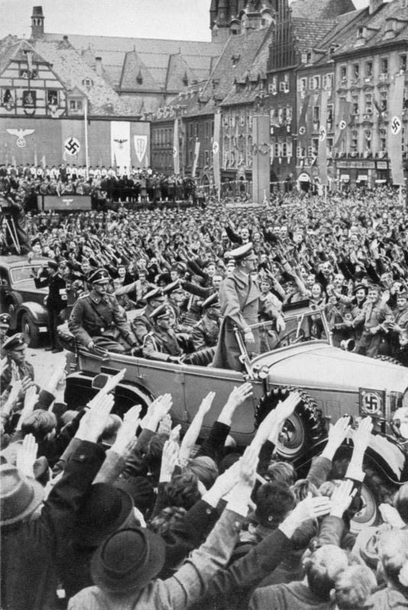 Churchill made dire warnings about the rise of Hitler and the German Nazi party, during the 1930s, which were largely ignored by British politicians and the public.  Many people's desire for peace caused them to underestimate the danger.