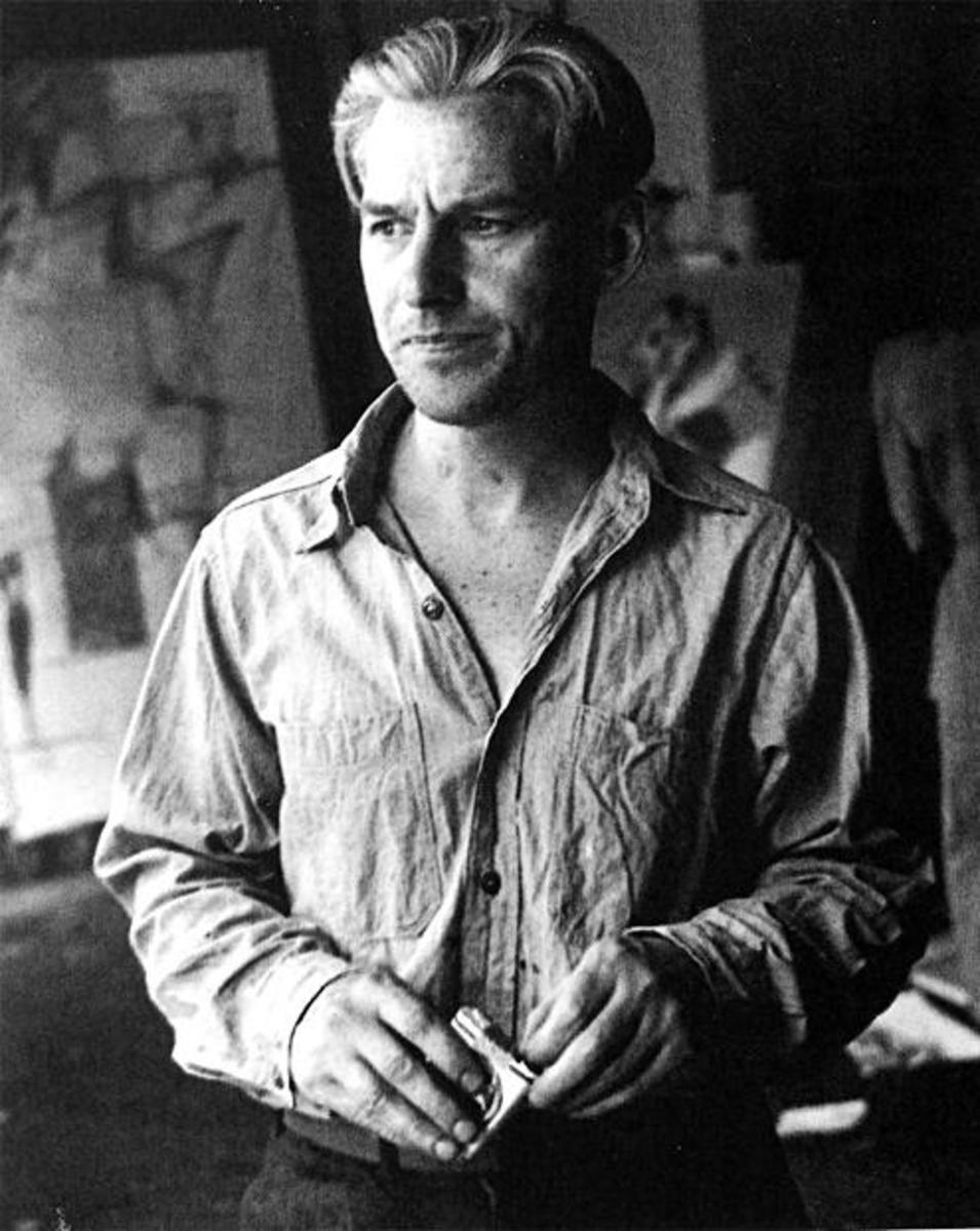 Willem de Kooning in 1950