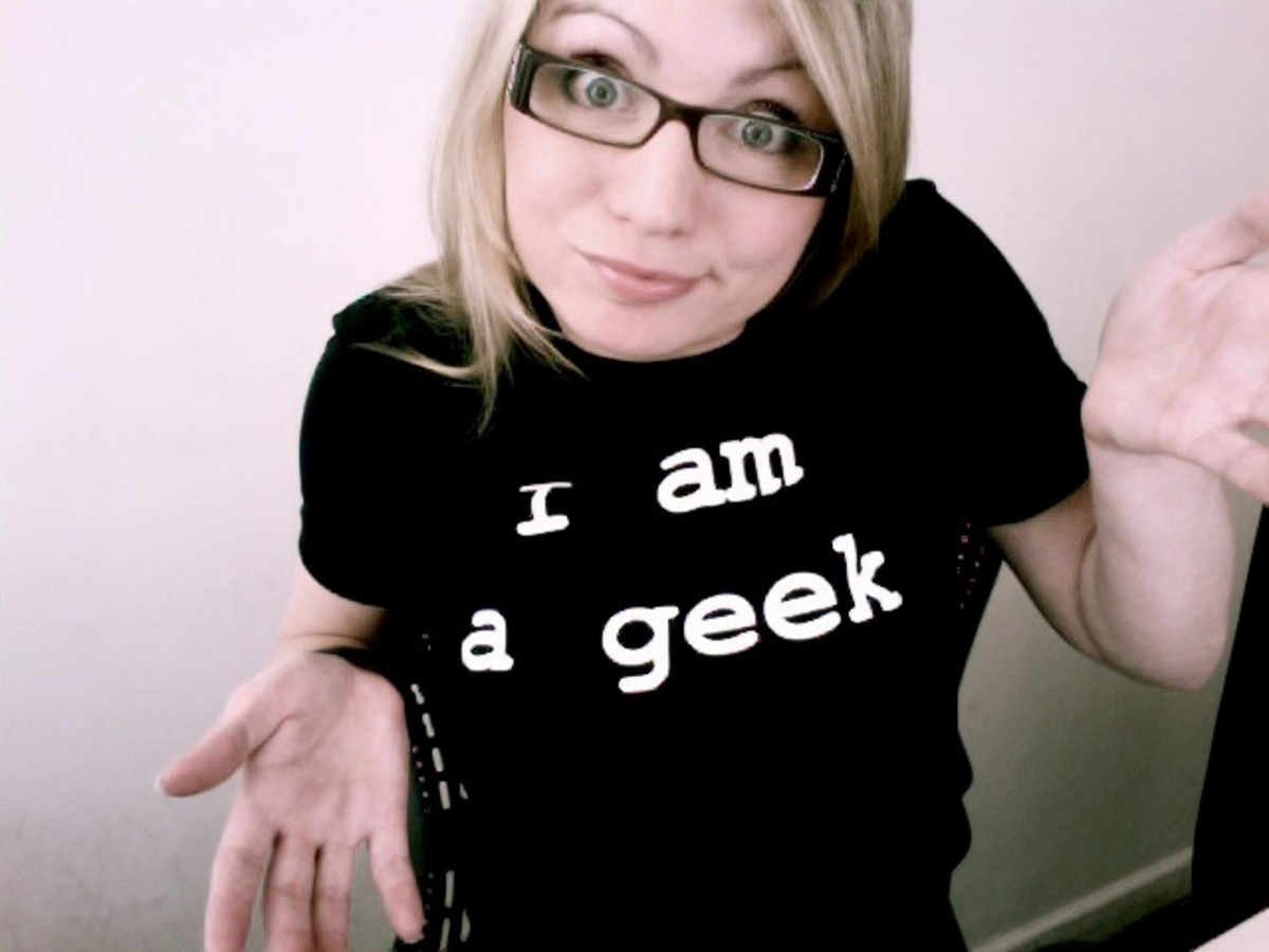 Geeks see possibilities where others see problems.